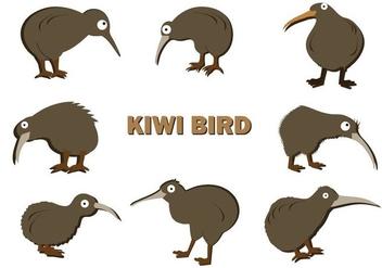Free Kiwi Bird Vector - бесплатный vector #414655