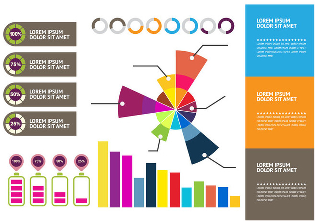 Element template infographic - Kostenloses vector #414715