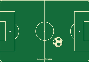 Football Field Background - Free vector #414745
