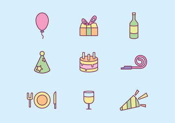 Free Party Vector - Free vector #414775