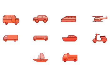 Free Transportation Icon Vector - Kostenloses vector #414785