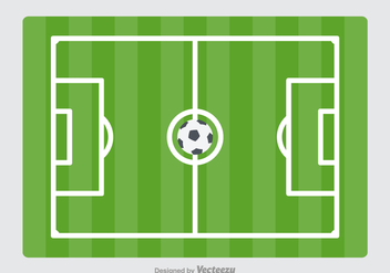 Free Vector Football Ground - Kostenloses vector #414855