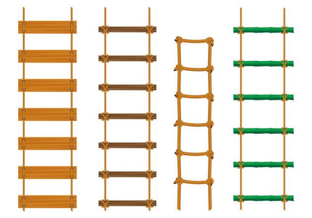 Rope Ladder Vectors - vector #414865 gratis