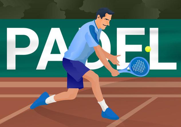Free Padel Vector Illustration - vector #414935 gratis