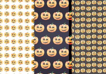 Halloween Vector Patterns - Free vector #414975