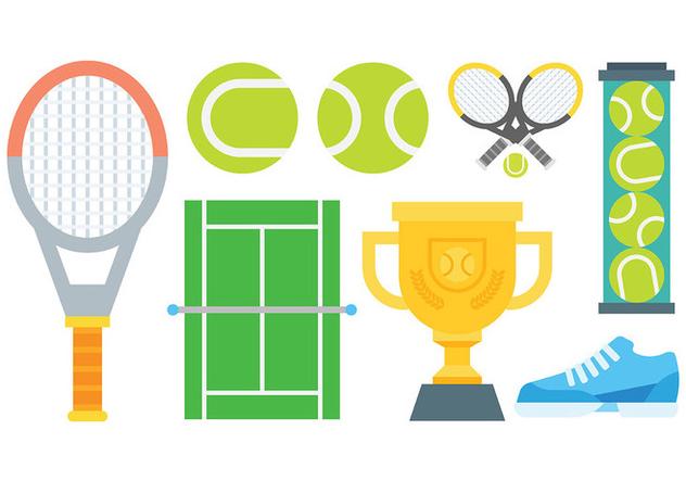 Free Tennis Icons Vector - vector #415055 gratis