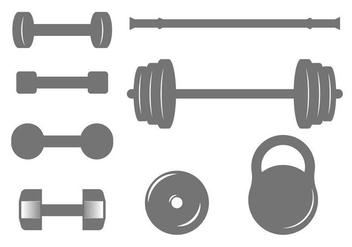 Free Dumbell Vector - Free vector #415565