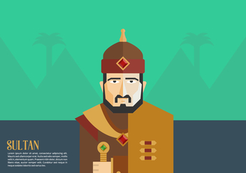 Sultan Background - vector gratuit #415715