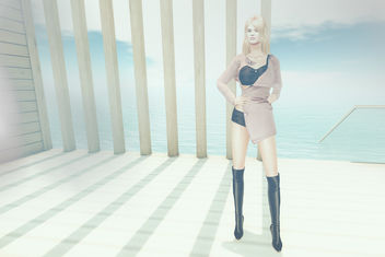 Simone outfit by Masoom @ Mesh Body Addict Bi-Monthly - Free image #415995