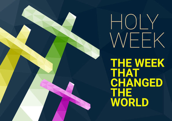 Free Holy Week Vector Illustration - Free vector #416095