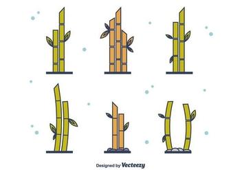 Free Bamboo Set - Kostenloses vector #416355