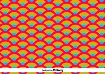 Oriental Waves Vector Pattern - vector gratuit #416425