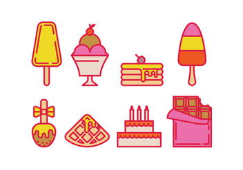 Vector sweets - Free vector #416955