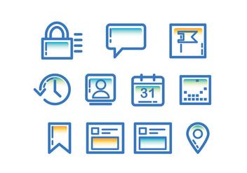 Tecnologia Facebook Page Icon - бесплатный vector #416995