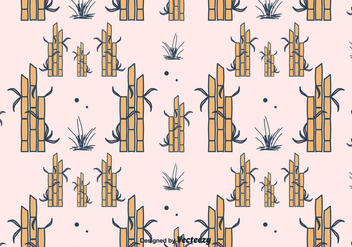 Bamboo Vector Pattern - Free vector #417545