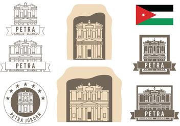 Petra Symbols Set - Kostenloses vector #417645