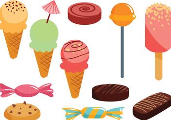 Free Sweets Vectors - Free vector #417925
