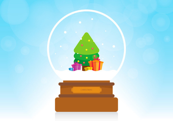 Sapin Christmas Gift - vector gratuit #417955