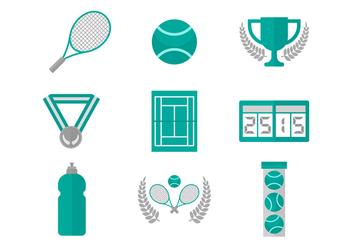 Free Tennis Vector Icons - Kostenloses vector #418035