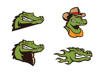 Free Crocodile Vector - бесплатный vector #418225