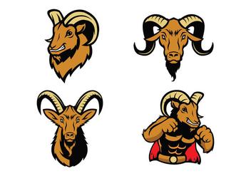 Free Rams Vector - Kostenloses vector #418235
