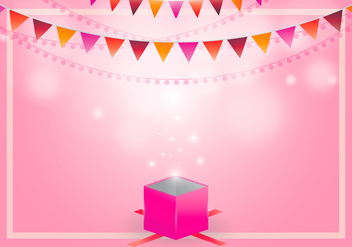 Party Favors Illustration Template - Free vector #418445