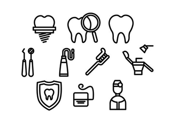 Free Dentista Vector - Free vector #418515