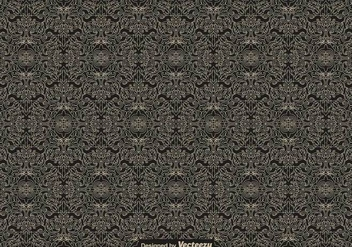 Vintage Seamless Pattern - Vector - Kostenloses vector #418545