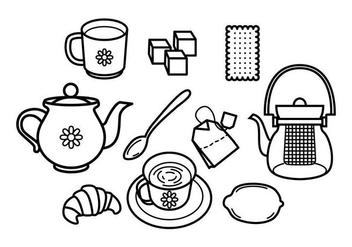 Free Teapot Vector - бесплатный vector #418805