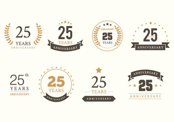 Free Anniversary Vector - Free vector #418855