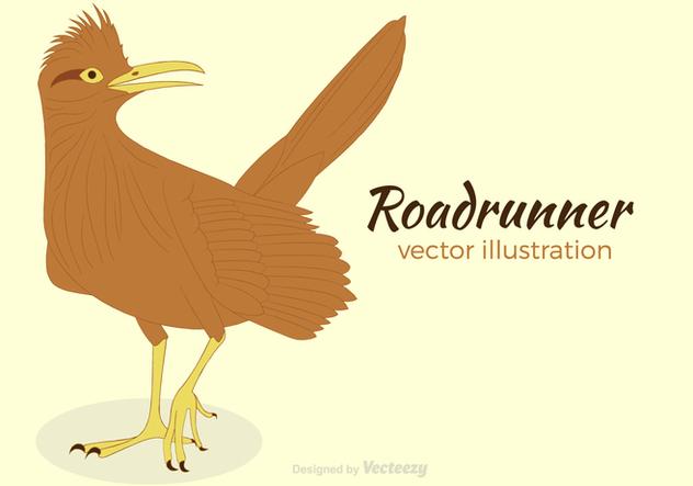 Free Roadrunner Vector Illustration - бесплатный vector #419195