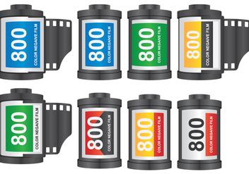 Camera Film Roll - Free vector #419575