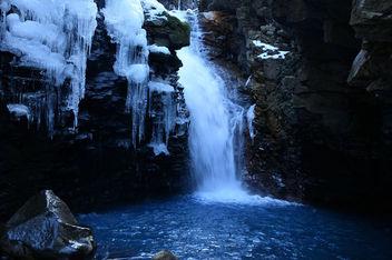 Blue falls - image gratuit #420505