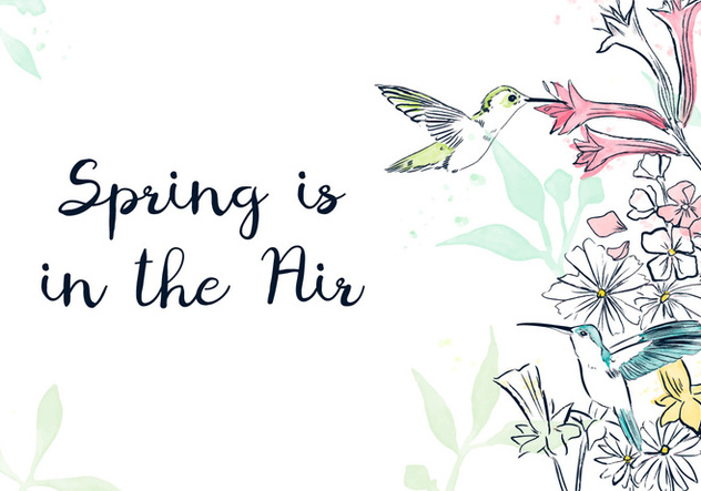 Spring Background - Free vector #420825