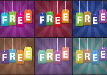 Free Labels Vectors - Free vector #420905