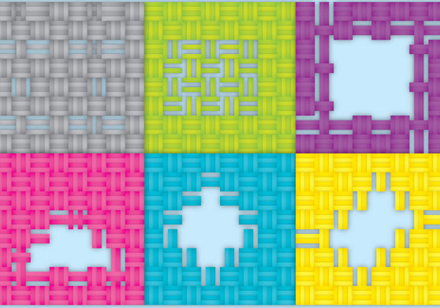 Torn Fabric with Holes Vectors - Free vector #420925