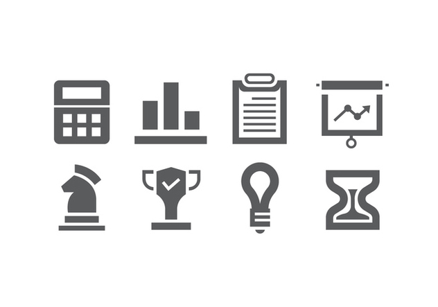 Set of business icons - бесплатный vector #421045