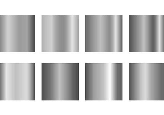 Set Of Grey Gradient Vectors - Kostenloses vector #421505