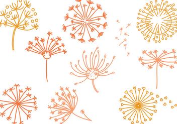 Free Dandelion Vectors - vector gratuit #422135