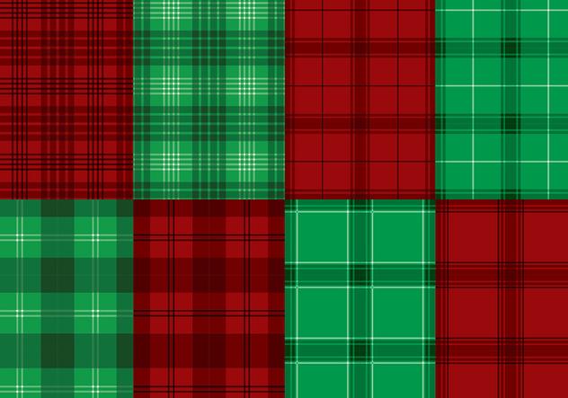 Flannel Red Green Texture Vector - vector #422455 gratis