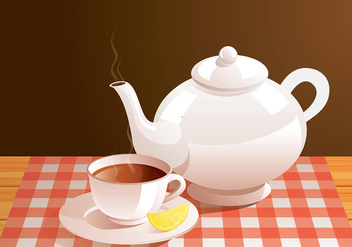 Teapot Real Free Vector - бесплатный vector #422555