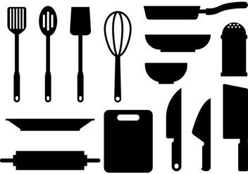 Free Cocina icons Vector - vector gratuit #422575