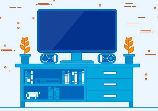 Free Vector Television Illustration - vector #422615 gratis