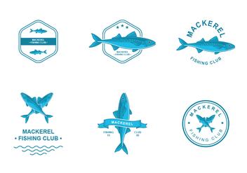Mackerel Logo Design - Free vector #422635