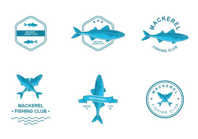 Mackerel Logo Design - vector #422635 gratis