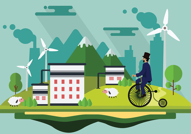 Bicicleta Cartoon Free Vector - vector #422665 gratis