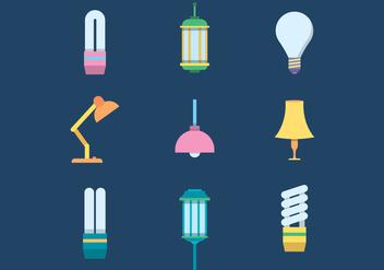 Free Lamps Vector - Kostenloses vector #423065