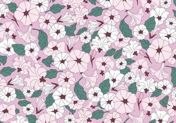 Petunia Pink Flowers Vector - Kostenloses vector #423255