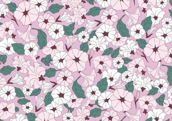 Petunia Pink Flowers Vector - бесплатный vector #423255