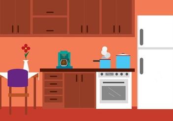 Free Vector Kitchen - Kostenloses vector #423785